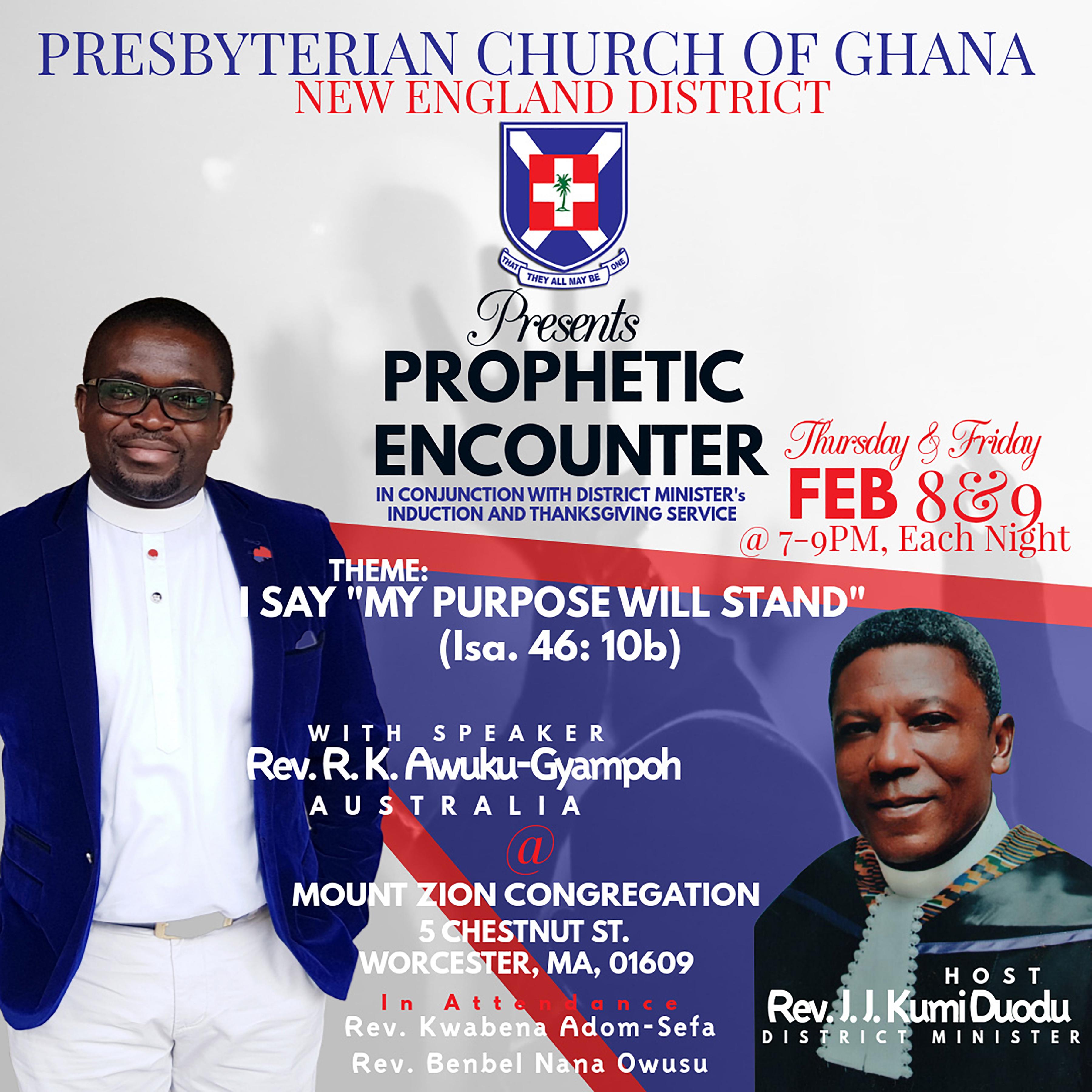2 Day Prophetic Encounter