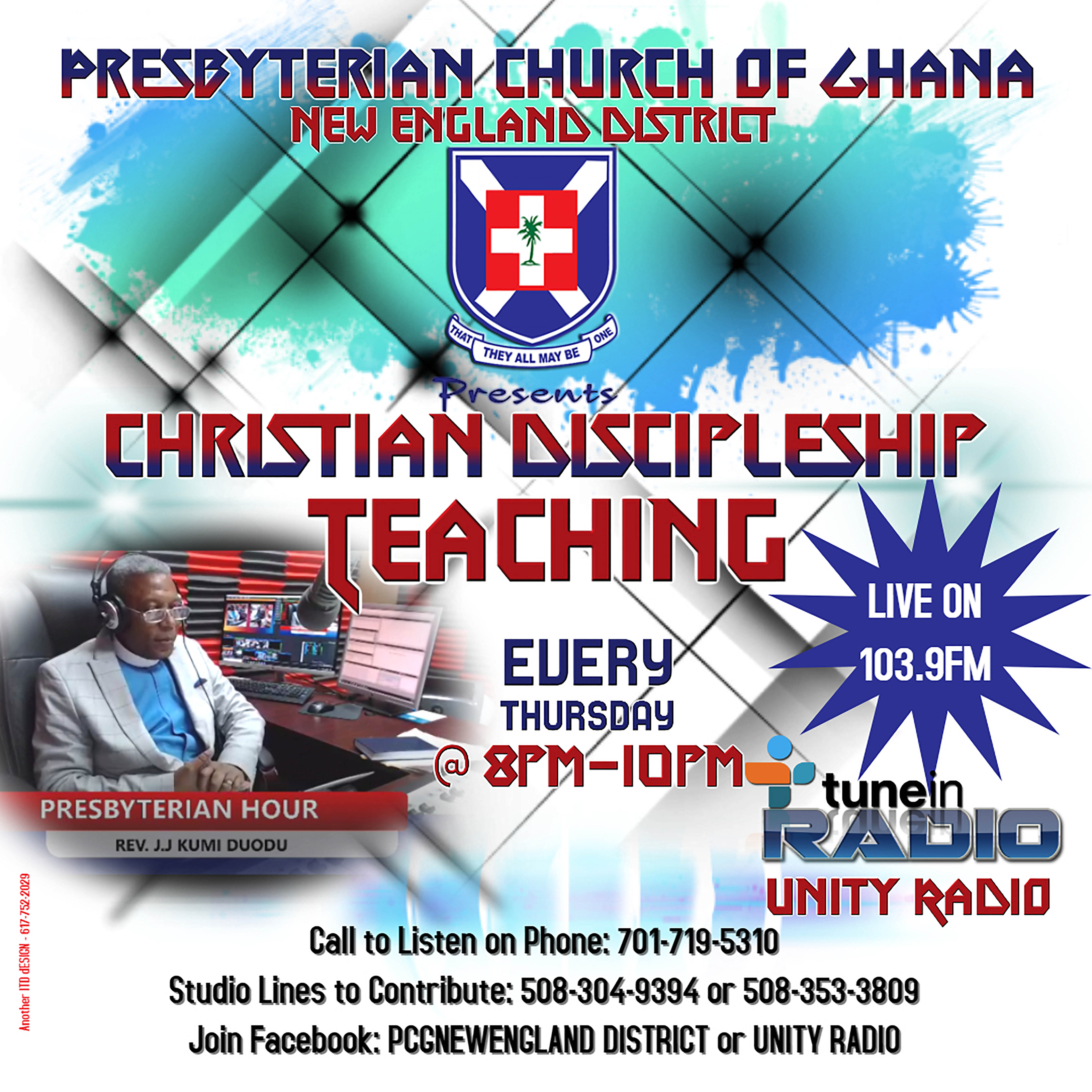 PRESBYTERIAN HOUR – CHRISTIAN DISCIPLESHIP TEACHING