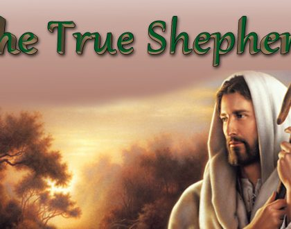 THE TRUE SHEPHERD (7-22-18)