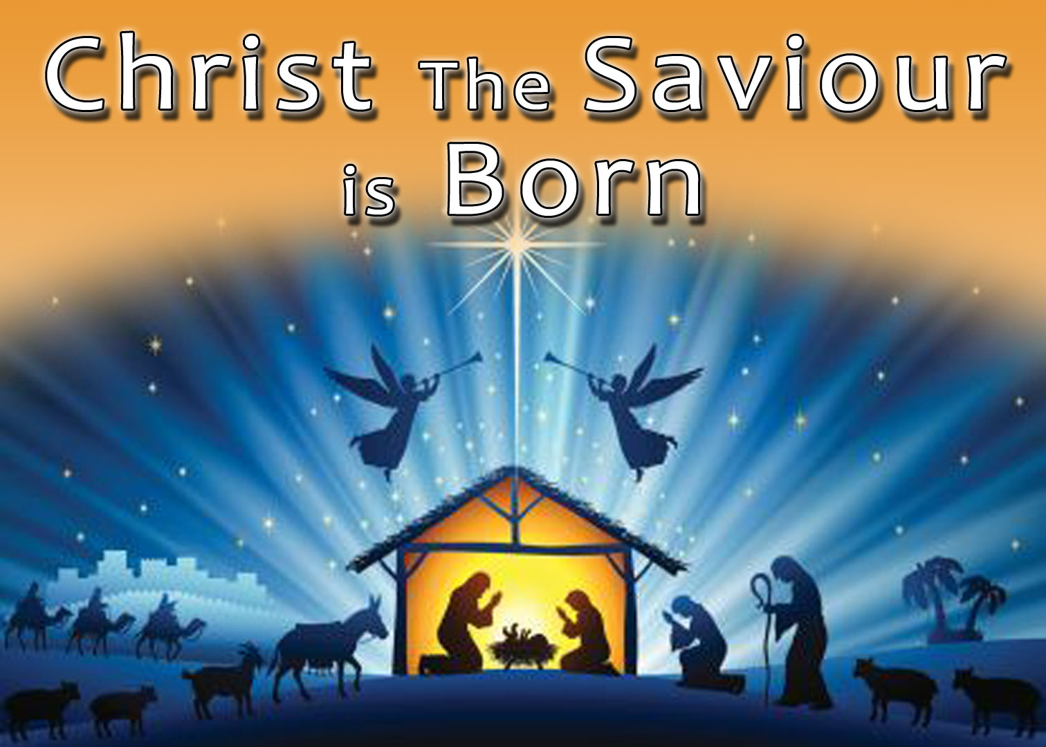 CHRIST THE SAVIOUR IS BORN (12-25-18)
