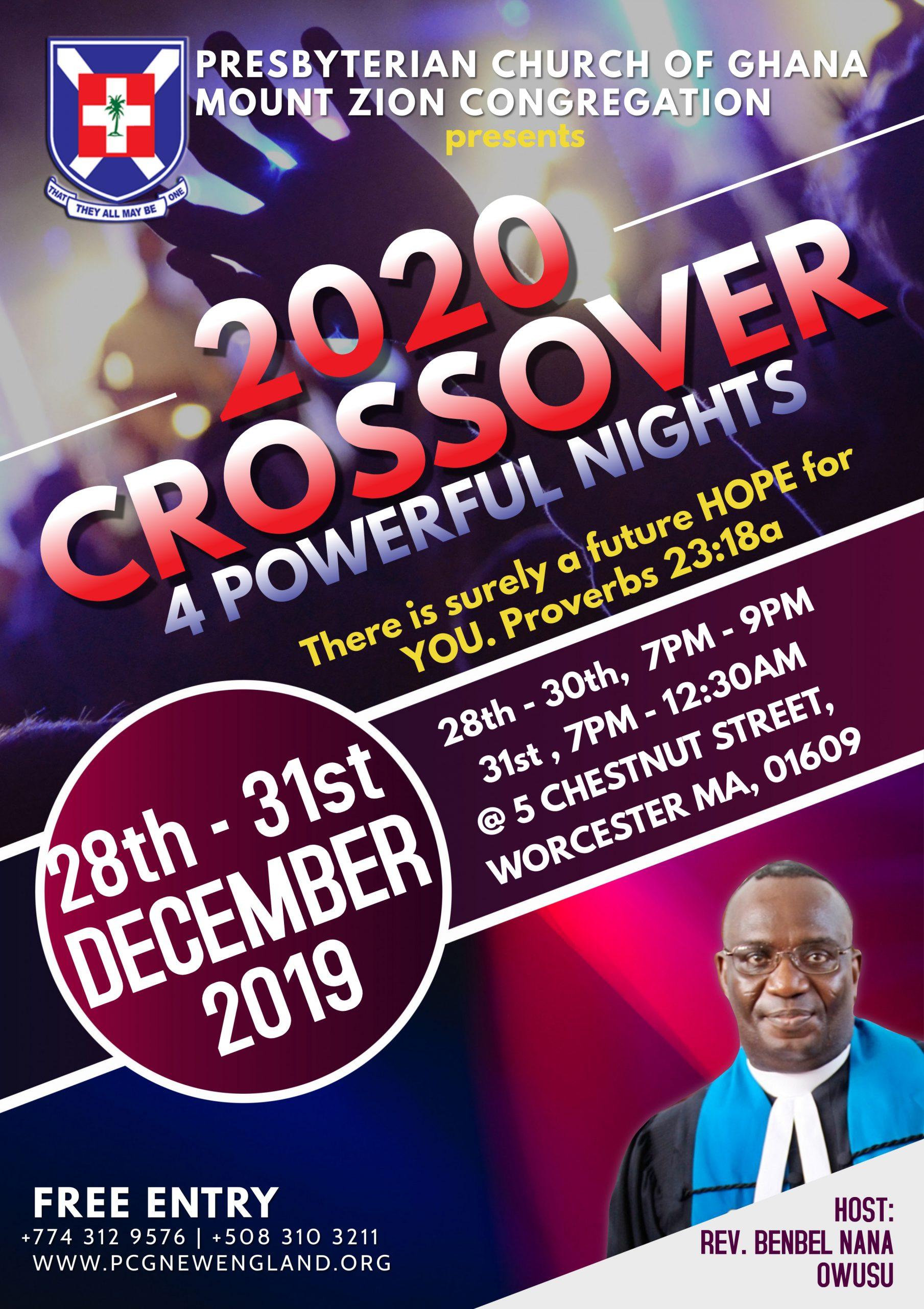 2020 CrossOver Service