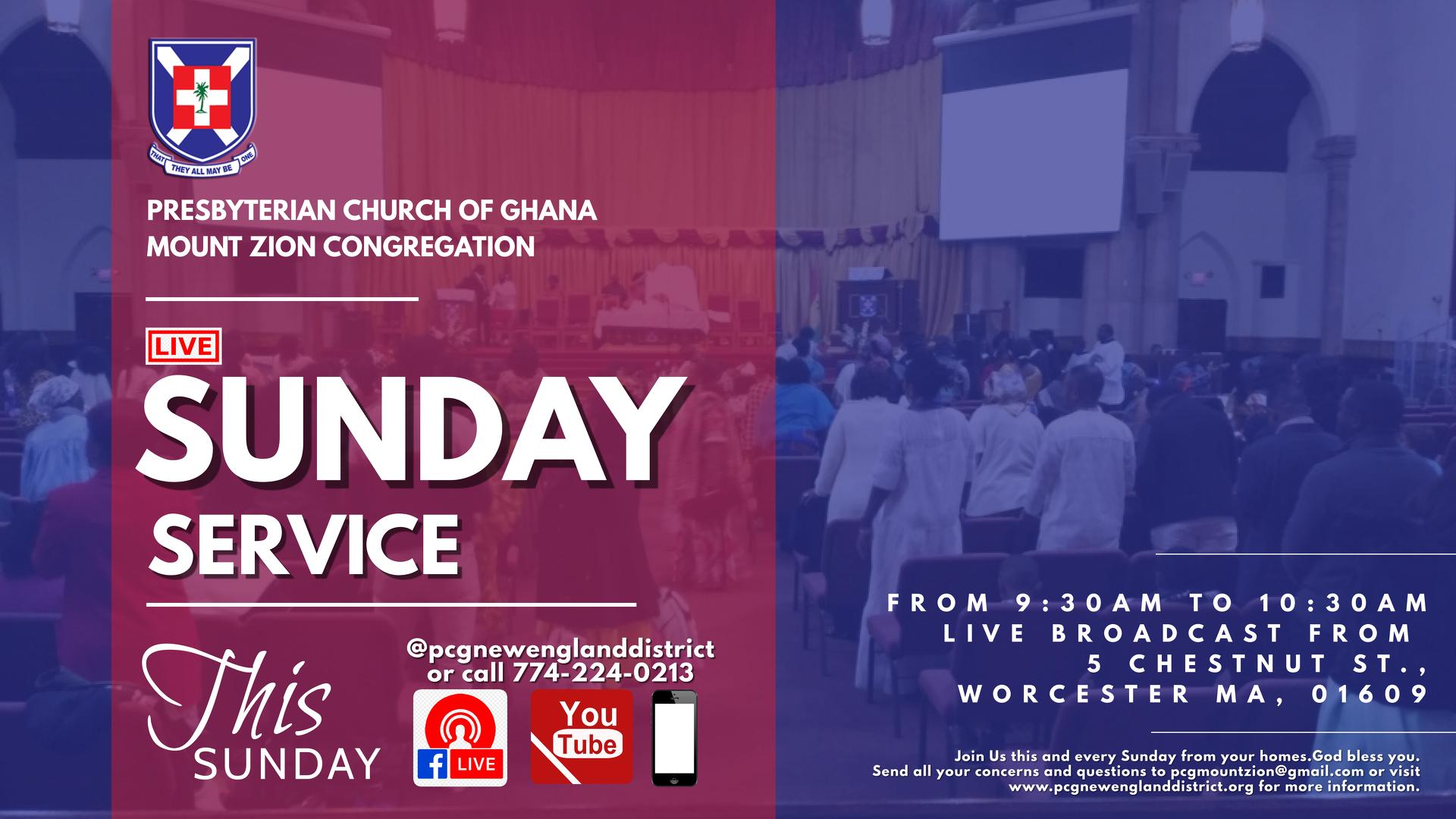 Online Sunday Service (LIVE)