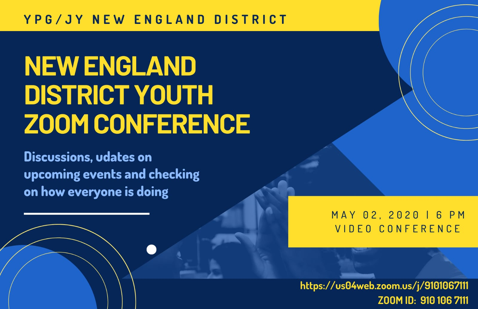 New England District Youth Zoom Conference